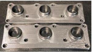"Honda B Series 1//2/"" Thick Mild Steel Flange for Turbo Header or Manifold DIY"