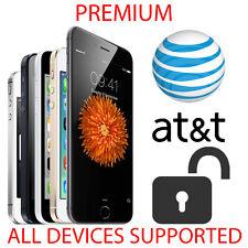 iPHONE 7 | 6S | 6 | 5S | 5C | 5 | 4S | AT&T PREMIUM ATT FACTORY UNLOCK SERVICE