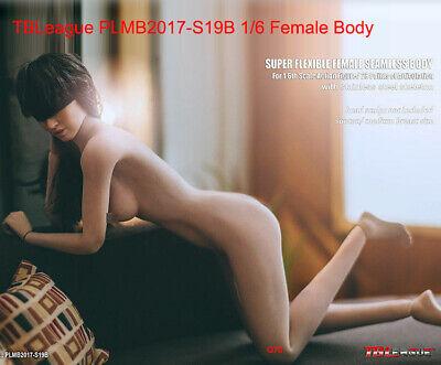 """TBLeague PHICEN 1//6 Scale Female 12in 12/"""" Body S19B #Suntan"""