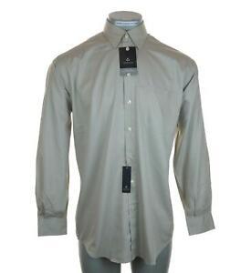 Nouveau-Homme-Claiborne-Chemise-habillee-a-manches-longues-Medium-15-5-034-32-33-034-T-Weave