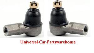VAUHALL MERIVA  03- TWO FRONT LOWER OUTER TRACK TIE ROD ENDS LEFT AND RIGHT