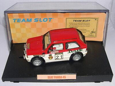Elektrisches Spielzeug Team Slot 72401 Seat Panda 45 #21 C.sainz-j.lacalle Harz Mb To Ensure Smooth Transmission Spielzeug