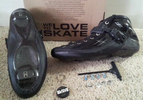 Powerslide  XX carbon speed skating boots size 15 NEW