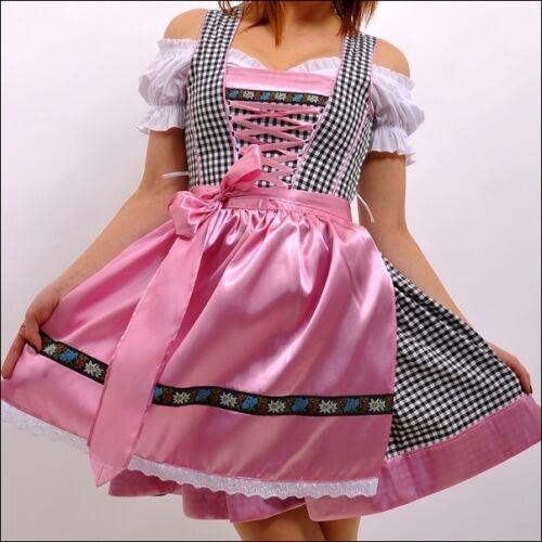 057.. Dirndl Trachtenkleid 3Tlg Oktoberfest Gr.34 bis 52 !!ORIGINAL LIFOS!!