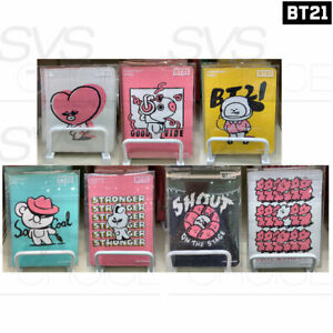 BTS BT21 Official Authentic Goods Passport Case Music Ver + Tracking Number