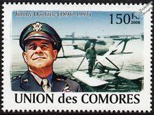 Jimmy Doolittle (Pilot) & Curtiss R3C-2 Racer Floatplane Aircraft Stamp