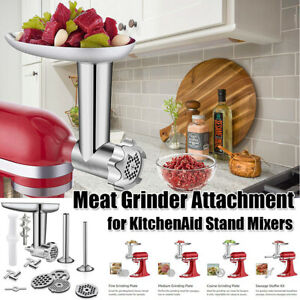 Meat-Grinder-Sausage-Stuffer-Attachment-For-KitchenAid-Stand-Mixers-Accessories