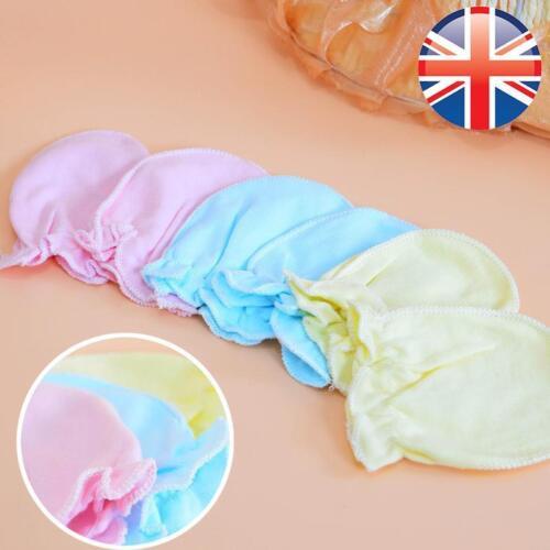 2 pcs Infant Baby Toddler Soft Anti Scratch Gants Moufles Mitaines * Vendeur Britannique