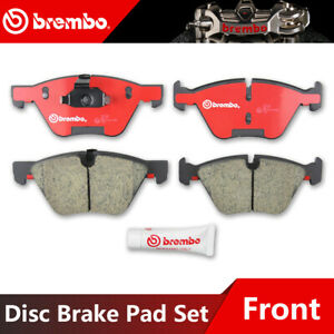 Front Ceramic Brake Pads Set For 2001 2002 2003 BMW 525i Low Dust 4pcs//set