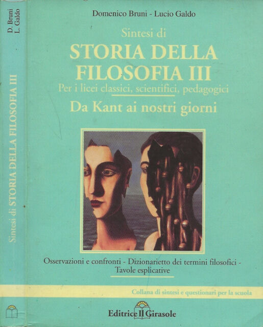 Sintesi di Storia della Filosofia. Vol. II. Da Kant ai nostri giorni. Domenico B