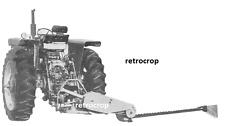 IH International Harvester 1300 3pt Hitch Balanced Head Sickle Mower Manual