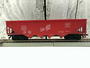 Vintage-Burlington-Northern-BN-100024-Freight-Green-HO-Scale-Car-Model-Train