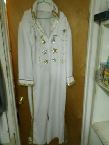 elvis suit hand made lots of bling with cape and b