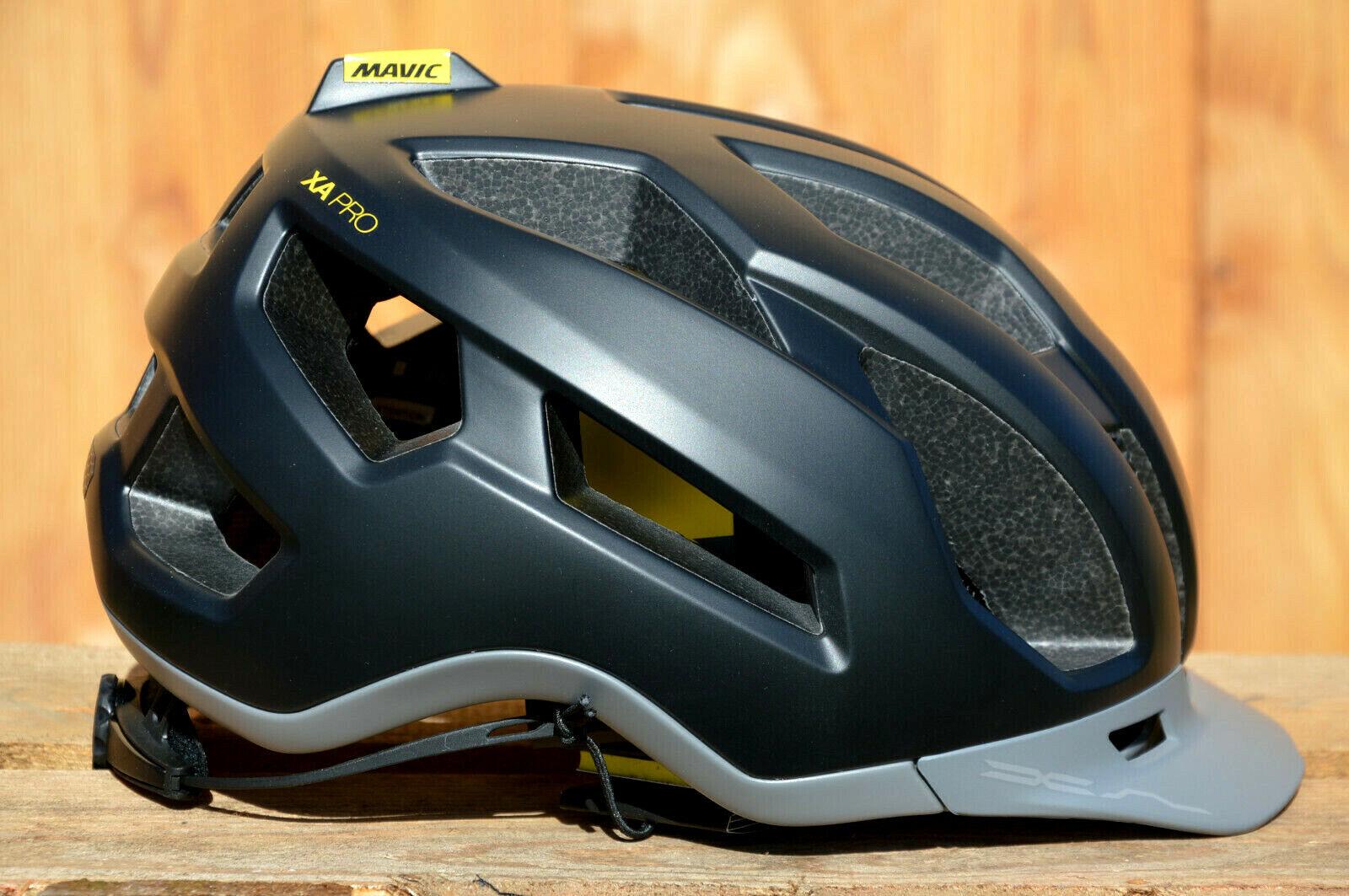 Mavic Xa Pro Vélo MTB Sentier Casque Confortable Siège Bonne Aération black Neuf