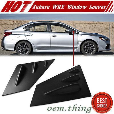 For Subaru WRX STI Sedan Mugen Style Side Window Visor Reflect 12-18