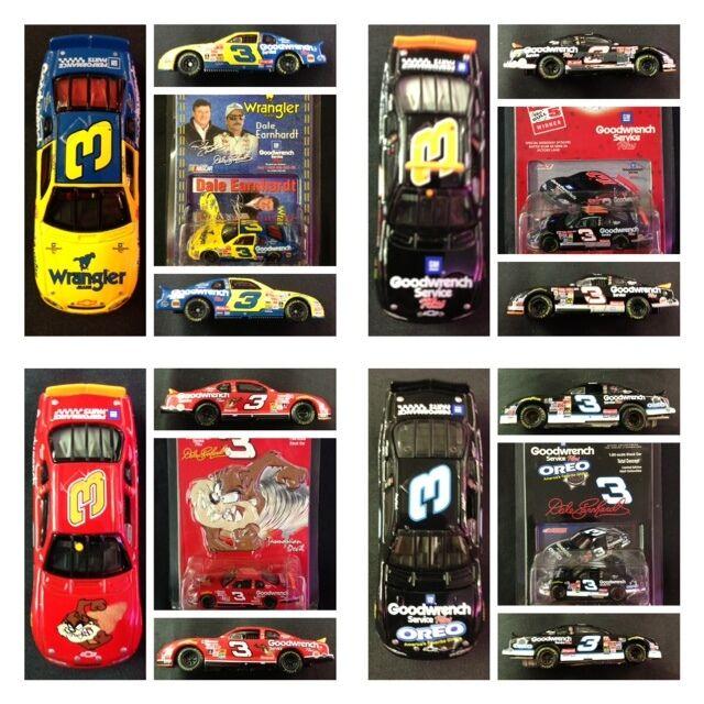 Dale Earnhardt Sr 3 Wrangler Taz Oreo No Bull 76th Win 1 64 Action Car LOT MIX 1
