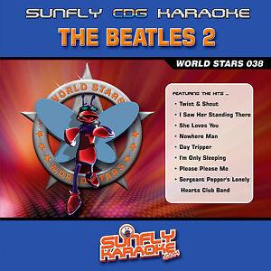THE-BEATLES-VOL-2-SUNFLY-KARAOKE-CD-G