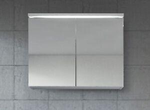 Meuble A Miroir 80x60 Cm Blanc Miroir Armoire Miroir Salle De