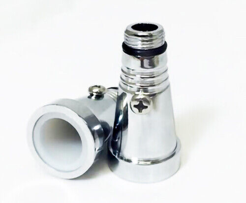 MYA SARAY LARGE HOOKAH HOSE STEM ADAPTERS SUPPLIES FOR HOOKAHS Silver