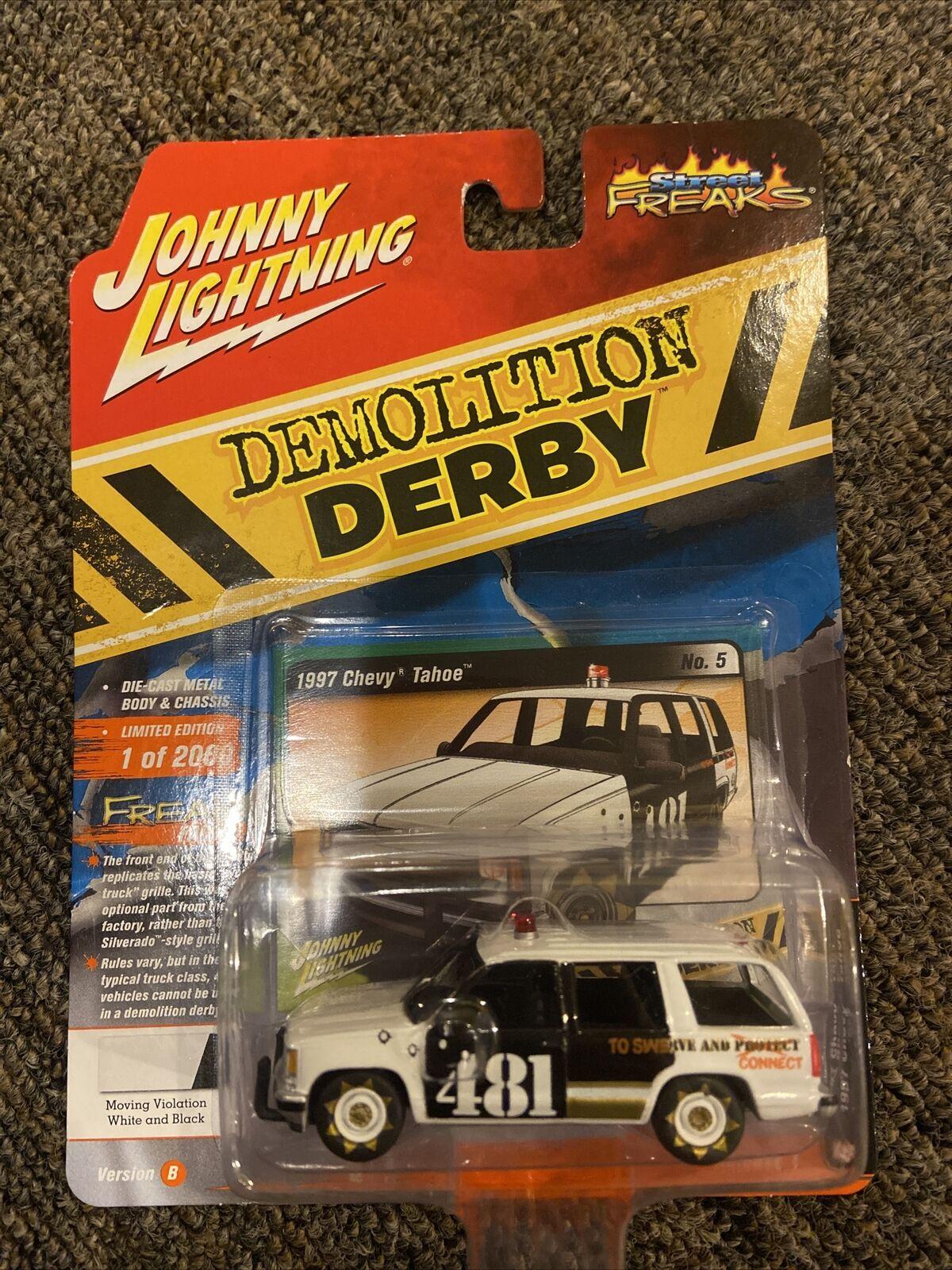 Johnny lightning street freaks demolition derby 1997 chevy tahoe ng59