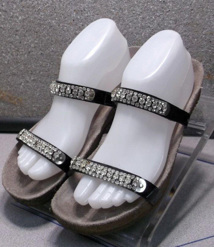 Ivana noir lmpfsaj 50 A chaussures femmes Taille 7 (Eur 37) Sandales en cuir MEPHISTO