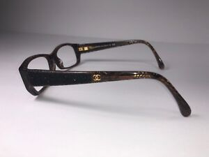d7153346b62b CHANEL 3171 CC 1123 Eyeglass Frame Designer Women s Rx Brown Glasses ...