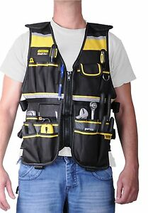 Image Is Loading Tool Vest For Carpenters With Pockets Construction Worker