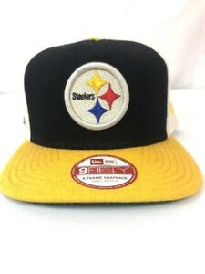 33a424c3f06fb3 Image is loading NFL-New-Era-9fifty-Pittsburgh-Steelers-Hat-Cap-