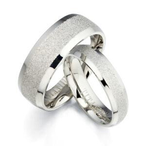 Image Is Loading Groom Bride Silver Scrub Plain Matching Anium Wedding