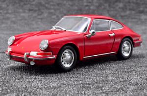 Welly-1-24-1964-Porsche-911-Red-Diecast-Modelo-Deportes-Coche-De-Carreras-Nuevo-En-Caja