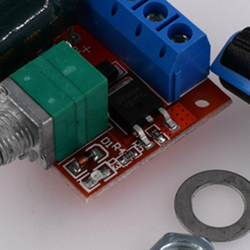 Motor Governor LED Dimmer 10V-50V 15A Motor Speed Regulator Controller Switch