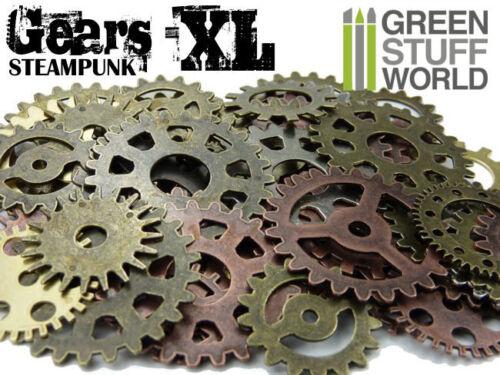 Steampunk Set 85 gr - Ruota dentata ed Ingranaggi XL - Vittoriani Cyberpunk