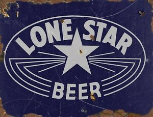 "TIN SIGN /""Bud Rust/""  Beer Mancave Wall Decor"