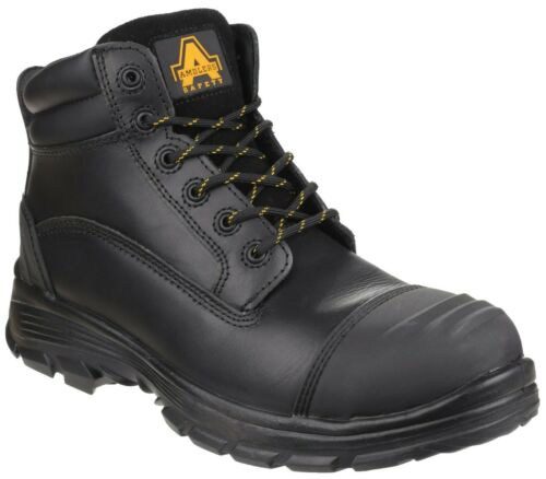 Amblers AS201 Quantok S3 steel toe-cap//midsole safety boot with bump-cap