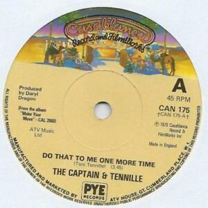 Vinyl-7-inch-Single-THE-CAPTAIN-amp-TENVILLE-Do-that-to-me-one-more-time-1979