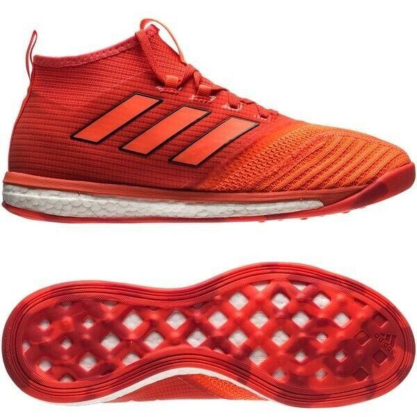 Adidas ACE Tango 17.1 Boost entrenador Pyro tormenta solar Rojo Naranja para Hombre US 11 Nuevos Y En Caja