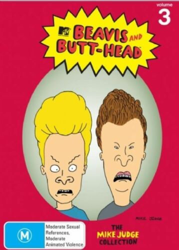 1 of 1 - Beavis and Butt-head: Volume 3 (the Mike Judge Collection) - DVD Region 4 Brand
