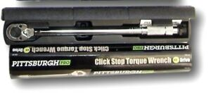 Torque-Wrench-1-2-034-Inch-Snap-Socket-Professional-Drive-Click-Type-Ratcheting
