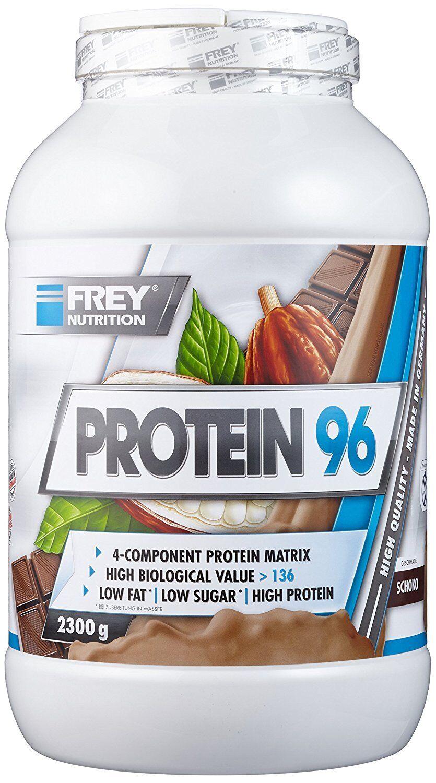 (26 81  1kg) FREY Nutrition Protein 96 (2300g) - - - wählbarer Geschmack 46bdb5