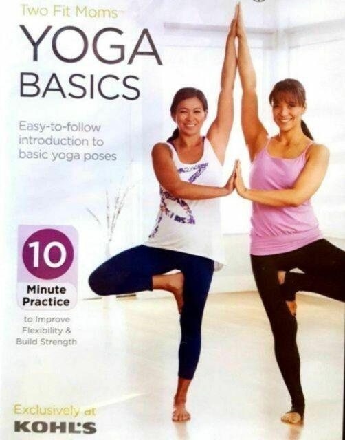 Two Fit Moms Yoga Basics DVD B1