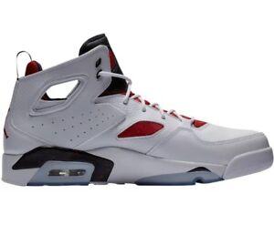 a9805b084f89 Nike Men s Air Jordan FLIGHT CLUB  91 Basketball Shoes 555475-121 Sz ...