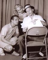 Frank Sinatra Paul Newman Eve Marie Saint Candid 10x8 Photo