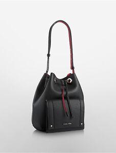 Luxury Calvin Klein Womens Sadie Messenger Bag  EBay