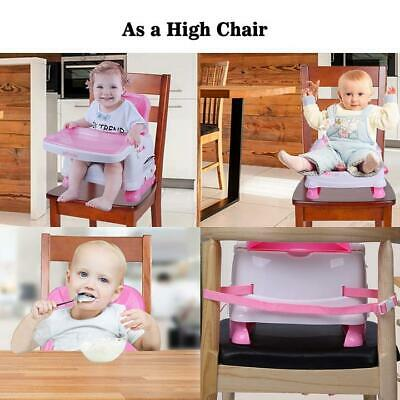 Lonabr Folding Booster Seat Dining Table Portable Baby High Floor Chair Toddler Ebay