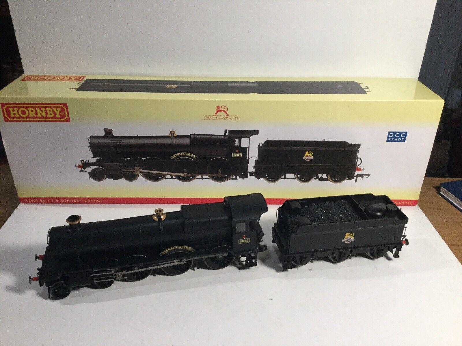 Hornby 00 Gauge R2403 Loco BR Early 4-6-0 6800 Grange Class Derwent DCC Ready NM