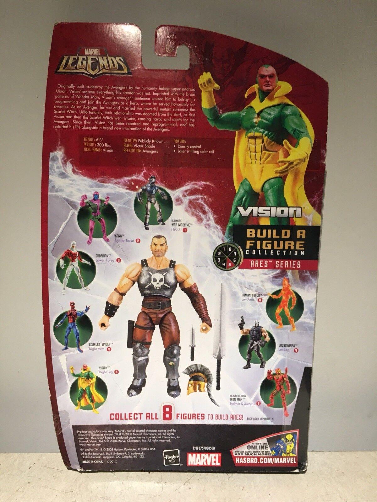 Marvel Legends VISION VHTF FIGURE W    ARES BAF RIGHT LEG 897fa6