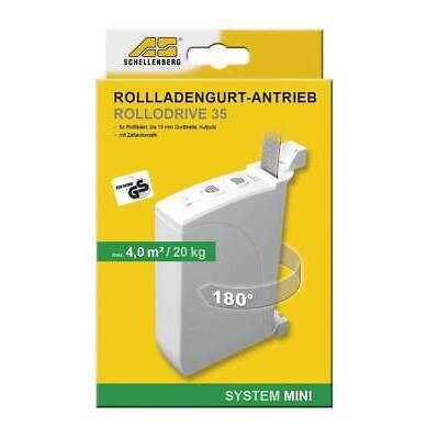 Schellenberg elektrischer Gurtwickler RolloDrive 35, Rollladen, Jalousie
