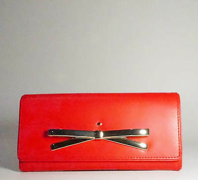 New H Q Leather Women Ladies Purse Wallet with Double Credit Cards Section 3711