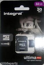 Integral 32GB Class 10 MicroSD Memory Card for Nokia Lumia 625 900 925 1020 1520