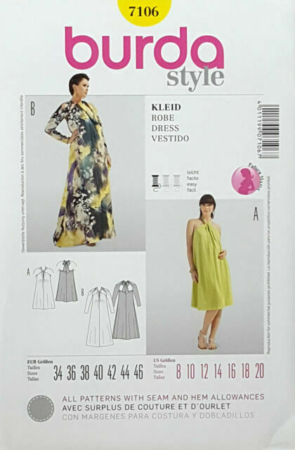 Burda Sewing Pattern Misses Dress and Blouse Size 8-10-12-14-16-18-20